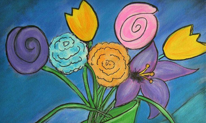 Art Classes by Debbie Russler at Hobby Lobby - Huntsville: $20 for an Acrylic Painting Class with Canvas and Supplies from Art Classes by Debbie Russler at Hobby Lobby ($40 Value)
