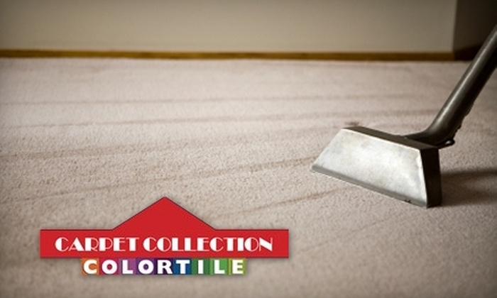 The Carpet Collection - Buffalo: $75 for a Three-Room Carpet Cleaning from The Carpet Collection ($128 Value)