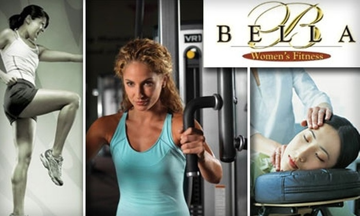 Bella Women's Fitness - Stone Oak: $55 for a One-Month Membership, Personal Training Session, Mini Facial, and Chair Massage at Bella Women's Fitness ($155 Value)