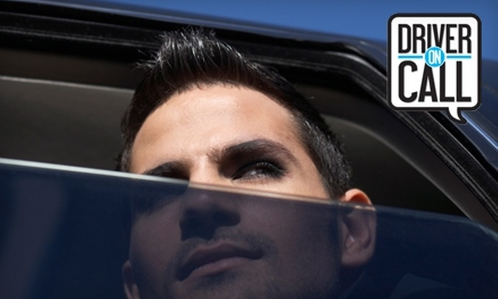 Driver On Call - Victoria: $25 for One Fare from Driver On Call (Up to $70 Value)