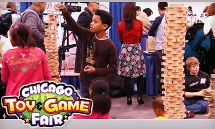 Chicago Toy & Game Fair - Near North Side: $5 for One Adult Ticket to the 2010 Chicago Toy & Game Fair ($10 Value)