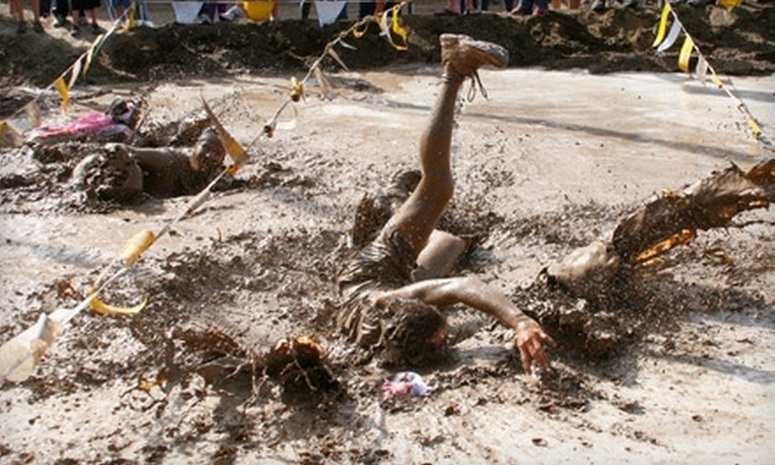The Dirty Dash - Seattle: $25 for One Registration to The Dirty Dash 10K Mud Run on July 9 in Kent ($50 Value)