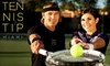 TennisTip Miami - Brickell: $45 for Three Group Tennis Lessons at TennisTip Miami ($105 Value)