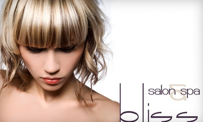 Bliss Salon & Spa - Delta: $25 for $50 worth of Hair Services at Bliss Salon & Spa