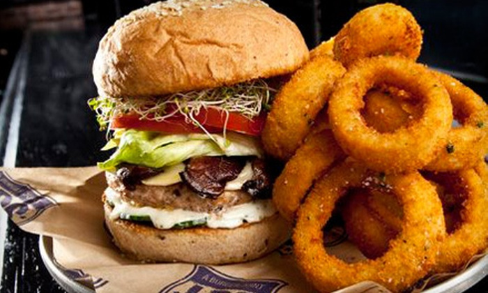 LBS - Las Vegas: $15 for $30 Worth of Burgers and American Fare at LBS