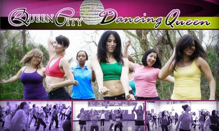 Queen City Dancing Queen - Multiple Locations: $24 for a Month of Unlimited Fitness Dance Classes at Queen City Dancing Queen ($48 Value)