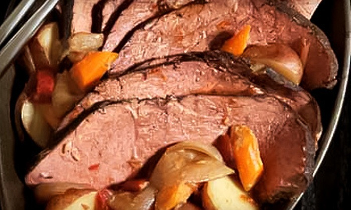 La Cense Beef: $39 for 5 Pounds of Precooked Grass-Fed Pot Roast with Shipping from La Cense Beef ($84.94 Value)