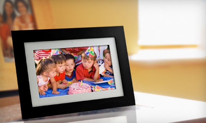 61% Off a Pandigital 7-Inch Picture Frame - Digital Picture Frame ...