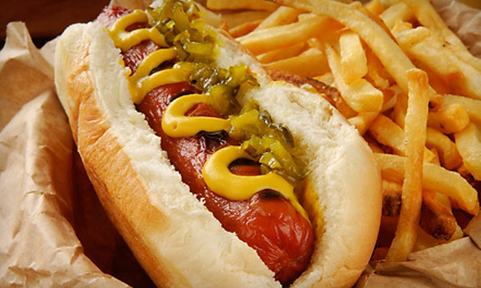 Little Island - Evanston: $7 for $15 Worth of Burgers, Hot Dogs, and Fries at The Little Island in Evanston