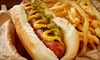 Little Island1 - Evanston: $7 for $15 Worth of Burgers, Hot Dogs, and Fries at The Little Island in Evanston