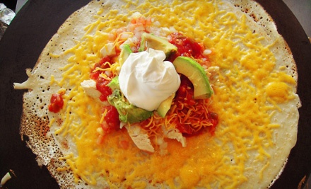 $10 Groupon to Tasty Crepes - Tasty Crepes in Garden City