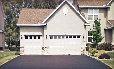 Seal Coating on a Two-Car Driveway, up to 800 Square Feet  - Super Seal Sealcoating in