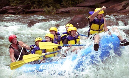 Whitewater-Rafting Trip on the Middle Ocoee River from March 17 to May 20 - Ocoee Rafting in Ducktown