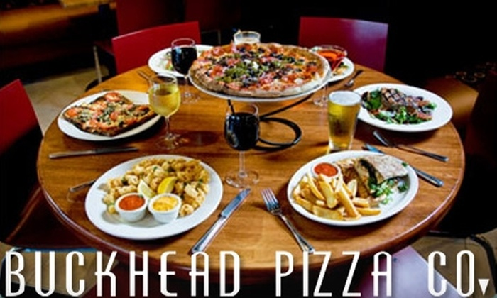 Buckhead Pizza Co. - Multiple Locations: $10 for $20 Worth of Brick-Oven Pizza, Apps, and More at Buckhead Pizza Co.