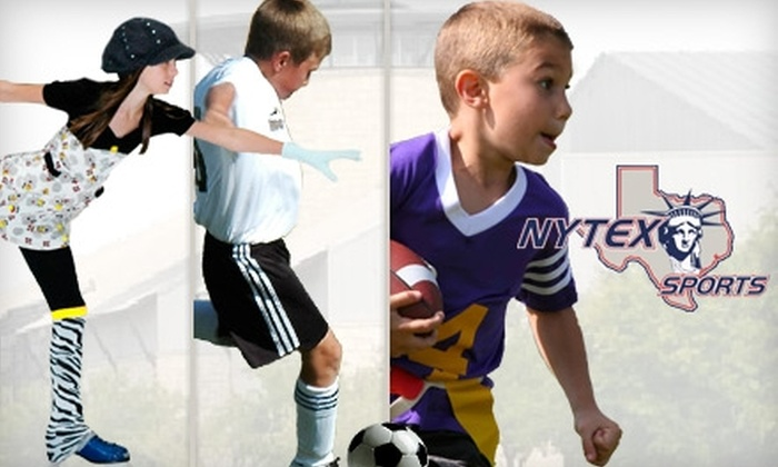 NYTEX Sports Centre - North Richland Hills: $29 for One Week of Children's Multisport Camp at NYTEX Sports Centre ($99 Value)