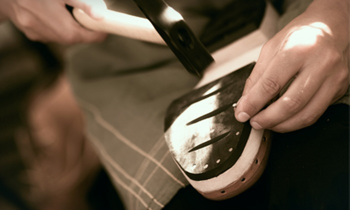 Your Shoe Repair Shop - Bucktown: $20 for $40 Worth of Shoe and Luggage Repair at Your Shoe Repair Shop