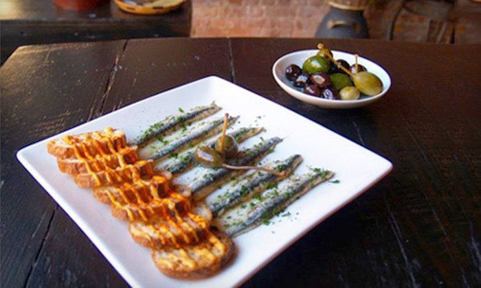 Palo Cortado - Carroll Gardens: $25 for a Two-Person Tapas Dinner Including an Appetizer and Your Choice of Four Tapas at Palo Cortado in Brooklyn (Up to $59 Value)