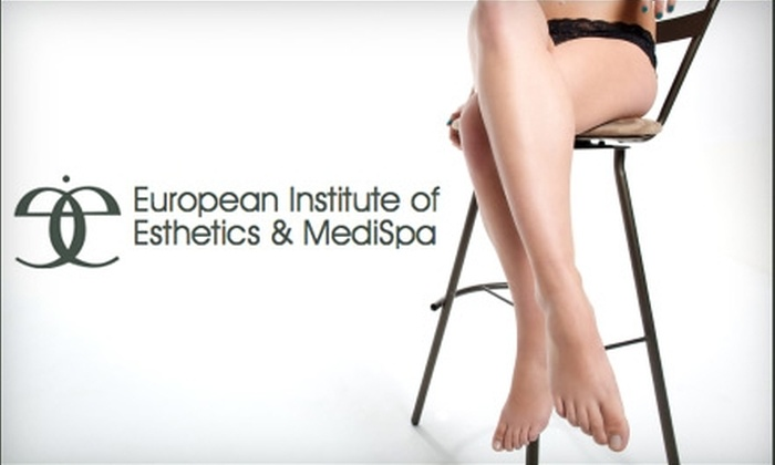 European Institute of Esthetics & Medi-Spa - Davies Industrial West: $189 for Three Sun Spot, Age Spot, or Spider Vein Laser Removal Treatments at the European Institute of Esthetics & Medi-Spa ($750 Value)