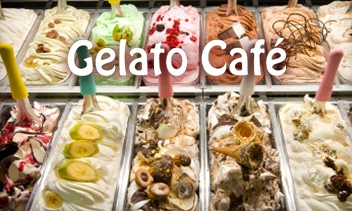Gelato Café  - Boise City: $7 for $15 Worth of Gelato, Sushi, Drinks, and More at Gelato Café