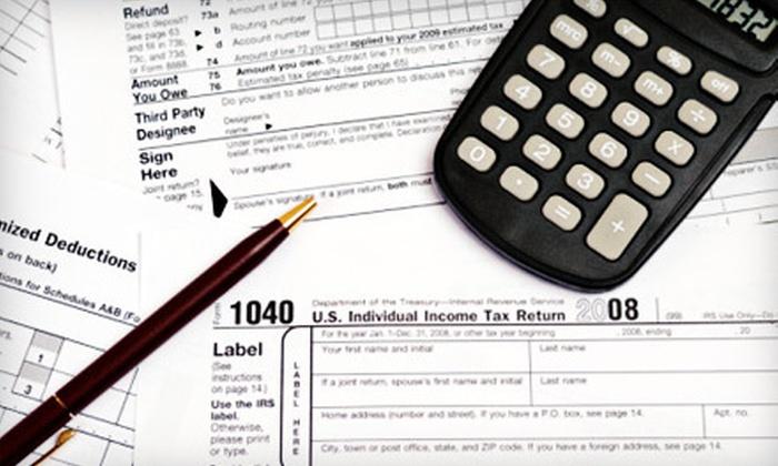 1800Accountant.com - Salt Lake City: Personal or Business Tax Preparation at 1800Accountant.com (75% Off)