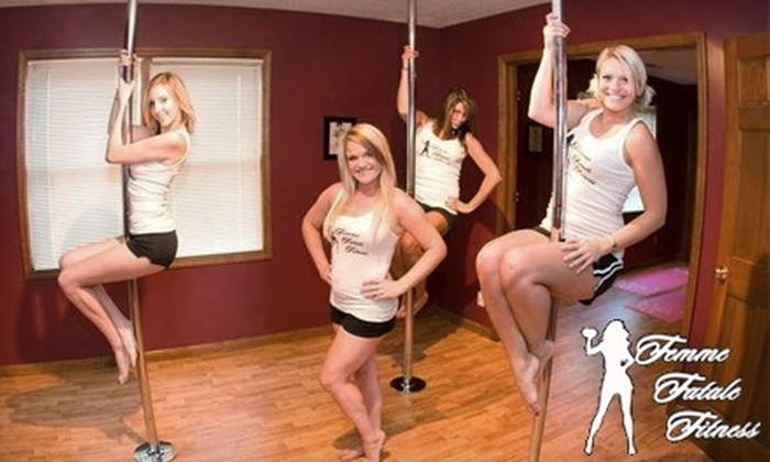 Femme Fatale Fitness - Centerville: $15 for One Pole Teaser Class and One Flirtatious Friday Class at Femme Fatale Fitness ($30 Value)