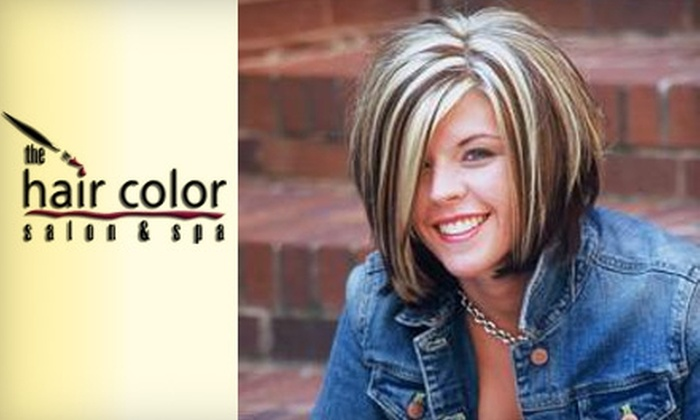 The Hair Color Salon & Spa - Lawrenceville: $35 for $100 Worth of Hair Services at The Hair Color Salon & Spa in Lawrenceville
