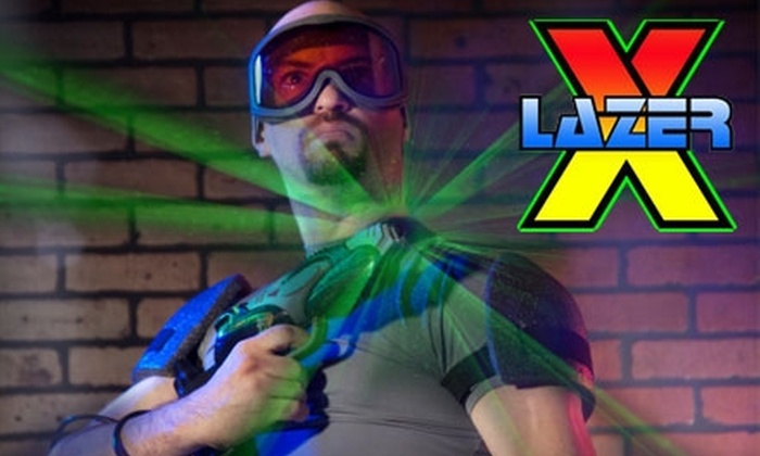 Lazer X - Chicago: $14 for Four Games of Laser Tag at Lazer X in Addison (Up to $28 Value)
