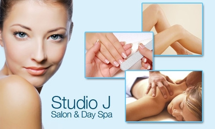 Studio J Salon & Day Spa - Seattle: $25 for $60 Worth of Any Service at Studio J Salon & Day Spa