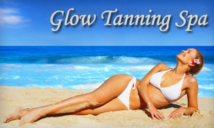 Glow Tanning Spa - Lincoln: $20 for Two Air Brush Spray Tans or 10 Tans on any Bed at Glow Tanning Spa