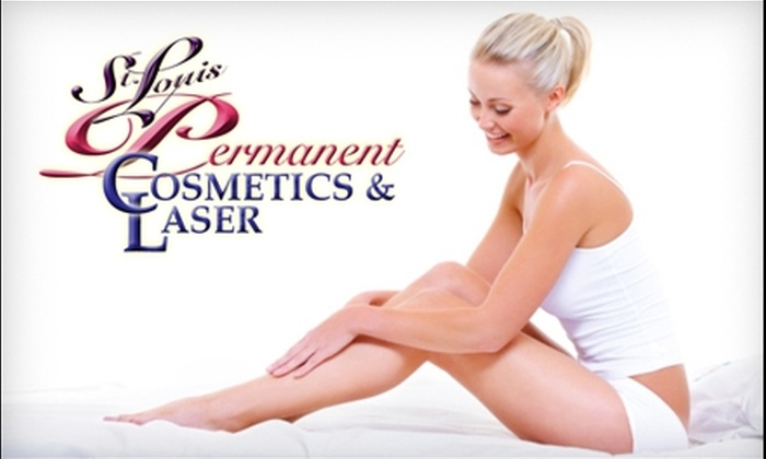 St. Louis Permanent Cosmetics and Laser - Grover: $99 for Six Laser Hair-Removal Treatments at St. Louis Permanent Cosmetics and Laser in Wildwood (Up to a $660 Value)