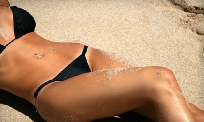 Image Sun Tanning - Boise City: $25 for $50 Worth of Tanning or $28 for Two Spray Tans ($56 Value) at Image Sun Tanning