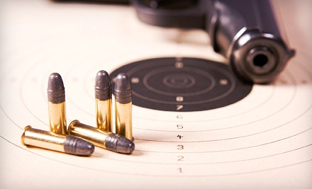 Shooting-Range Package for 2 (a $50 value) - Guns and Leather in Hendersonville