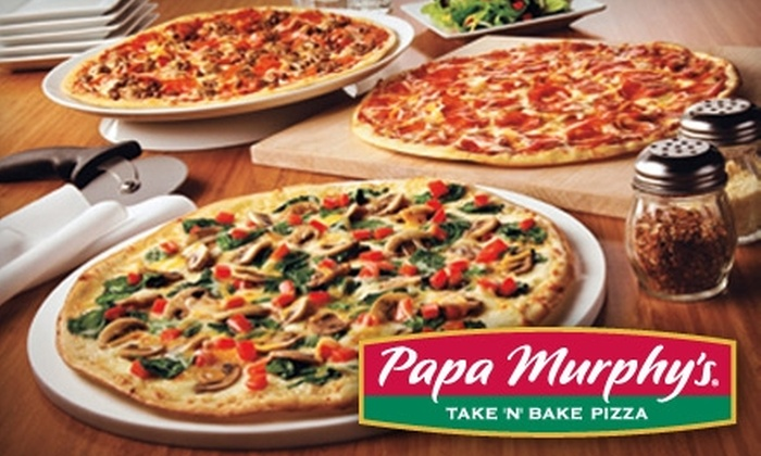 Papa Murphy's - Multiple Locations: $8 for $16 Worth of Handmade Take 'N' Bake Pizza and More at Papa Murphy's. Choose from 32 Locations.