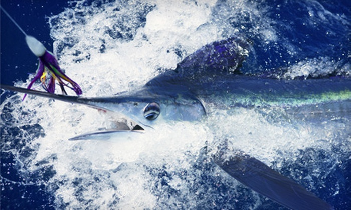 Fish On Board - Central Beach: $75 for a Four-Hour Fishing Trip from Fish On Board (Up to $199 Value)