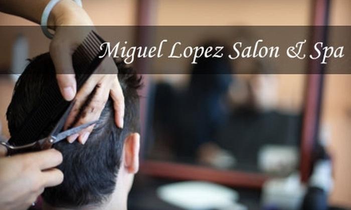 Miguel Lopez Salon & Spa - SoHo: $30 for a Men's Haircut at Miguel Lopez Salon & Spa ($60+ Value)