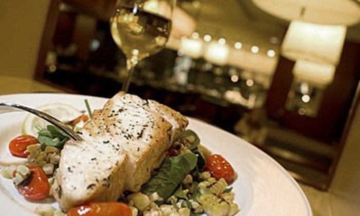 Fire & Sage - Downtown - Penn Quarter - Chinatown: $15 for $35 Worth of Upscale American Cuisine and Two Glasses of Wine at Fire & Sage