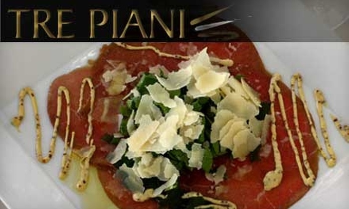 Tre Piani - Plainsboro: $20 for $40 Worth of Lunch (or $30 for $60 Worth of Dinner) at Tre Piani in Princeton