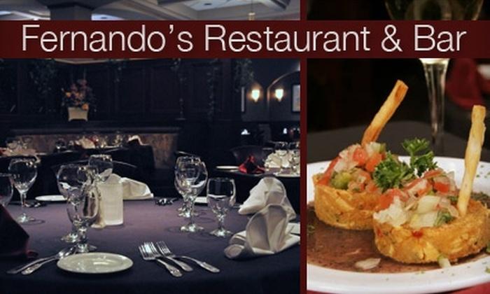 Fernando's Restaurant - Sugar Land: $25 for $50 Worth of South American Cuisine at Fernando's Restaurant