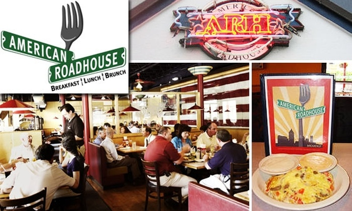 American Roadhouse - Virginia Highland: $10 for $20 Worth of Homestyle Omelettes, Waffles & More at American Roadhouse