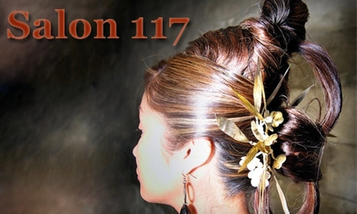 Salon 117 - Downtown: $60 for Haircut, Foil, & Style ($120 value) or $125 for Brazilian Keratin Treatment (Up to $300 Value) at Salon 117
