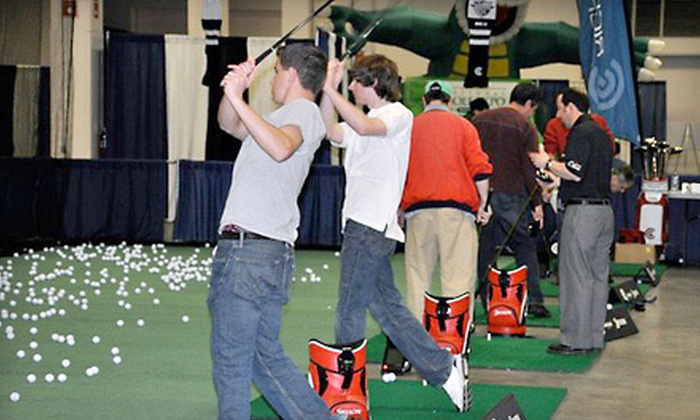 National Golf Expo - D Street - West Broadway: $24 for One-Day Outing for Four to National Golf Expo at Seaport World Trade Center on March 2–4 (Up to $48 Value)