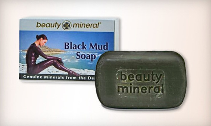 Beauty Mineral Canada Inc.: $28 for Four Bars of Dead Sea Black Mud Soap from Beauty Mineral Canada Inc. (Up to $67.80 Value)