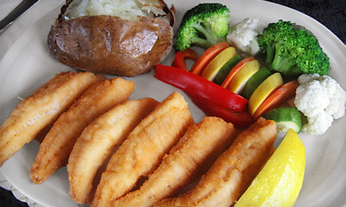 Sindbads - Detroit: Burgers, Seafood, and Steak House Fare for Lunch, Brunch, or Dinner at Sindbads (Half Off)