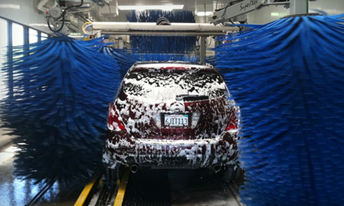 Surf Thru Express - McLane: $11 for Two Ultimate Car Washes at Surf Thru Express ($24 Value)