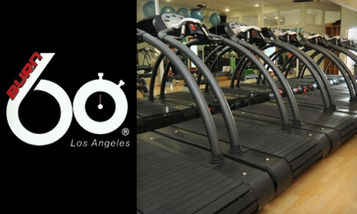 Burn 60 - Brentwood: $20 for Two Interval Training Classes at Burn 60 in Brentwood (Up to $56 Value)