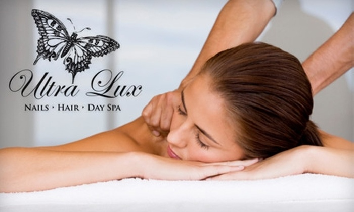 Ultra Lux Salon and Day Spa - San Diego: $40 for One-Hour Swedish Massage at Ultra Lux Salon and Day Spa ($80 Value)