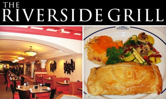 The Riverside Grill - Boise City: $10 for $20 of Fare from The Riverside Grill at the Doubletree