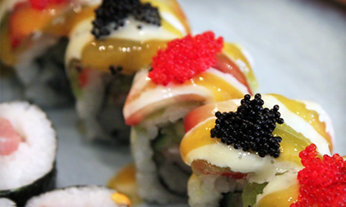 Oasis Sushi and Soul - Prestonia: Sushi and Southern Cuisine or Karaoke Package at Oasis Sushi and Soul (Up to 62% Off). Three Options Available.