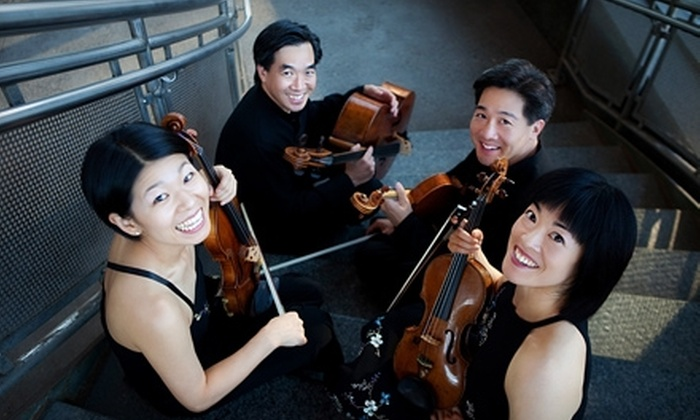 Ying String Quartet  - Heartside-Downtown: $35 for Two Tickets to the Ying String Quartet at St. Cecilia Music Center ($70 Value)