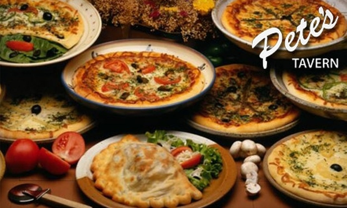 Pete's Tavern - Morristown: $15 for $30 Worth of Italian Fare and Libations at Pete's Tavern